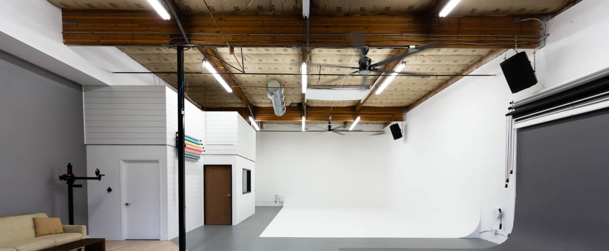 Largest Photo/Video Cyclorama Studio in San Diego (Ground Level, Drive-in Access) in San Diego Hero Image in Grantville, San Diego, CA
