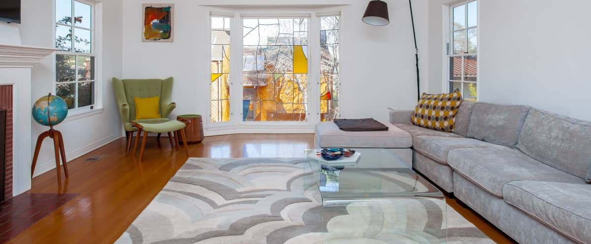 Spacious Light Filled 1930's Silver Lake Spanish Home with Chef's Kitchen, Spa-like Bathrooms and Terraced Yard in Los Angeles Hero Image in Silver Lake, Los Angeles, CA