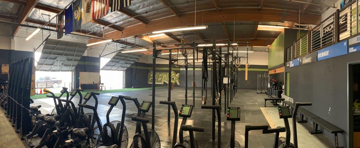 Spacious Industrial Gym in Riverside Hero Image in University, Riverside, CA