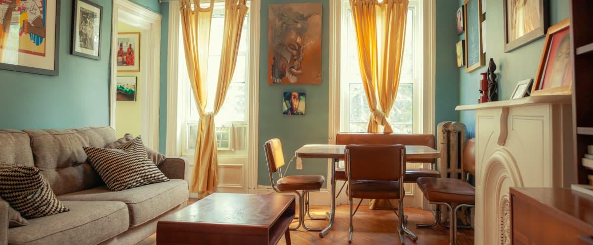 Charming Brownstone Top Floor in Brooklyn Hero Image in Bedford-Stuyvesant, Brooklyn, NY