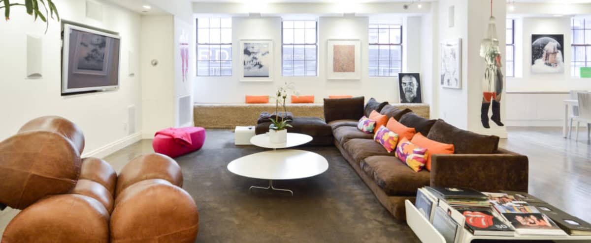 Whimsical, Chic, and Luxurious Loft in New York Hero Image in Lower Manhattan, New York, NY