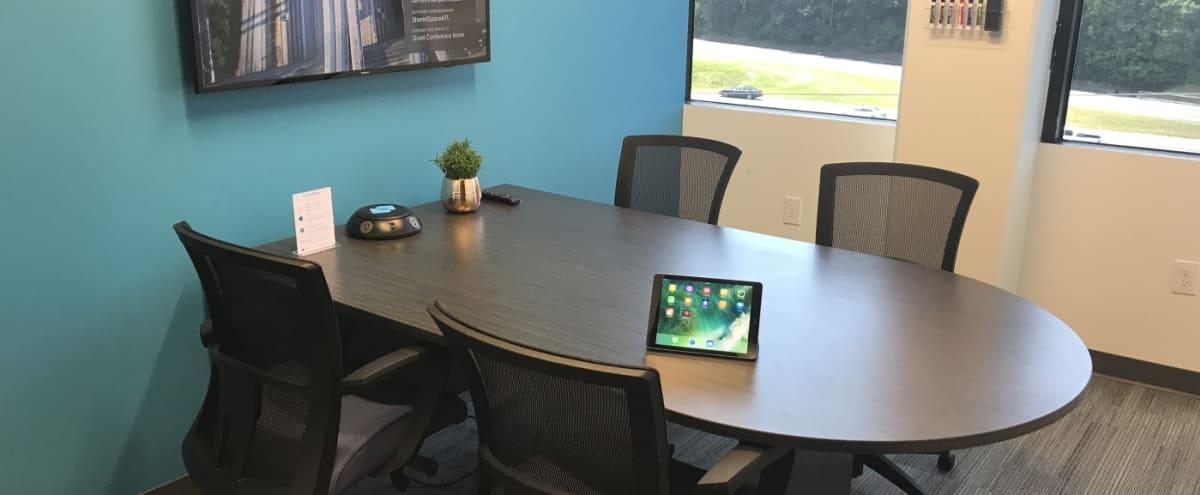 4 Person Meeting Room in Creative Space Located in Dunwoody in Atlanta Hero Image in undefined, Atlanta, GA