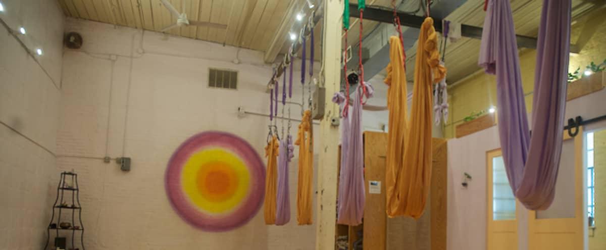 Yoga and Fitness Studio in Heart of Hampden in Baltimore Hero Image in Hampden, Baltimore, MD