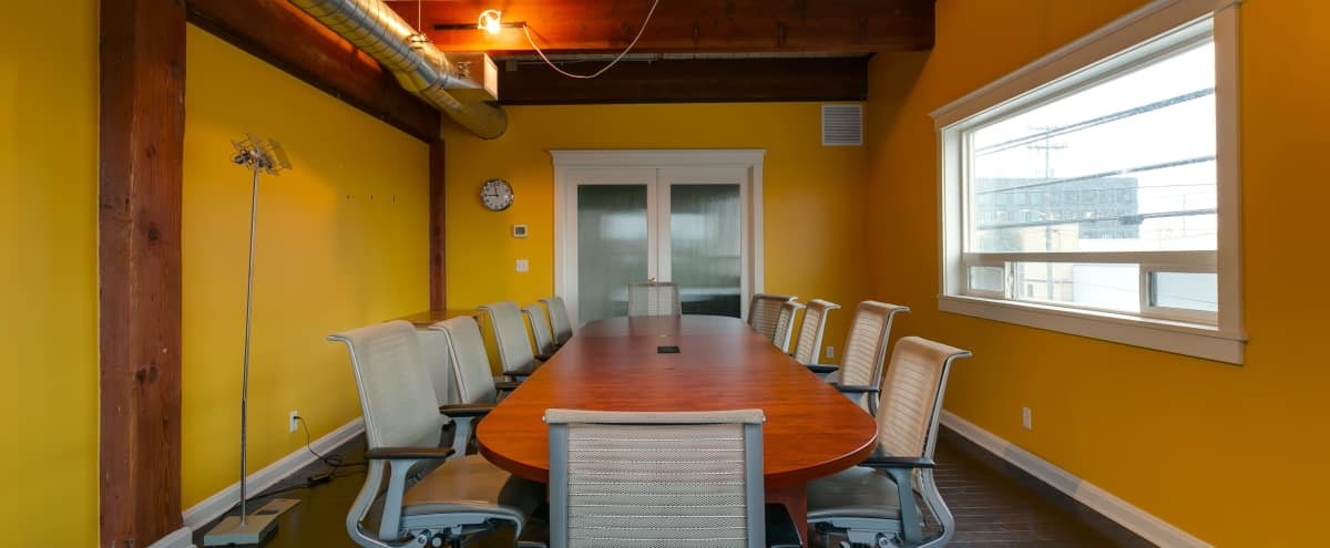 Meeting Room within Queen Anne Production Studio in Seattle Hero Image in Queen Anne, Seattle, WA
