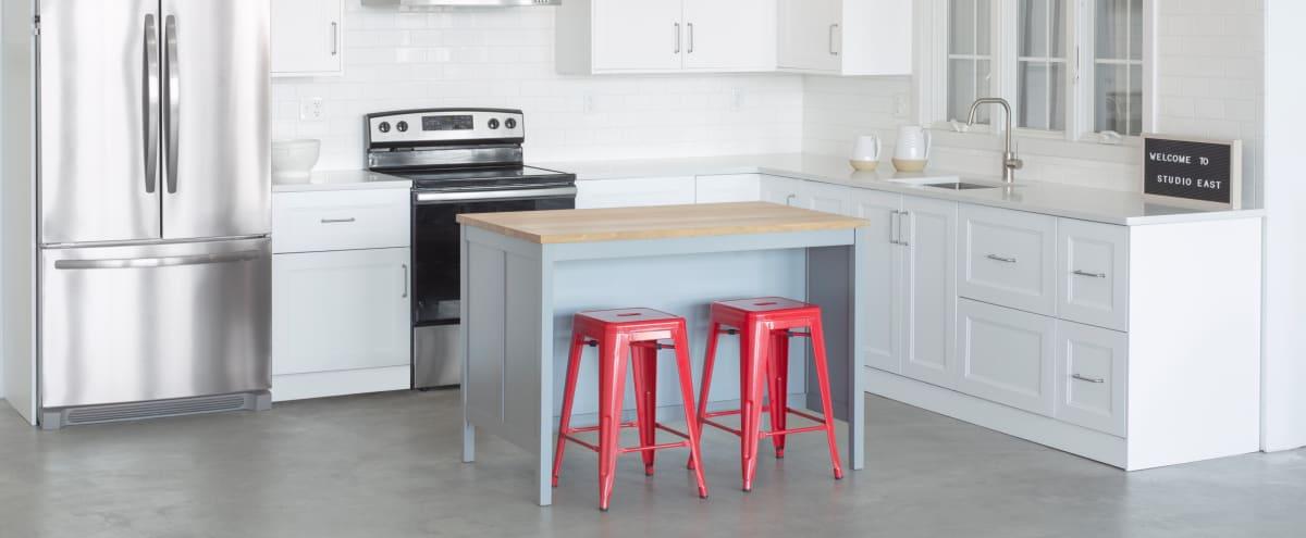 Modern Studio with Full Kitchen, Beautiful Daylight, Free Parking in Boston Hero Image in East Boston, Boston, MA