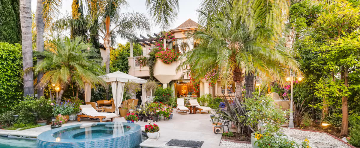Beverly Hills Outdoor Oasis With Pool/Jacuzzi, Seating, Heaters, Free Parking, & More! in Beverly Hills Hero Image in undefined, Beverly Hills, CA
