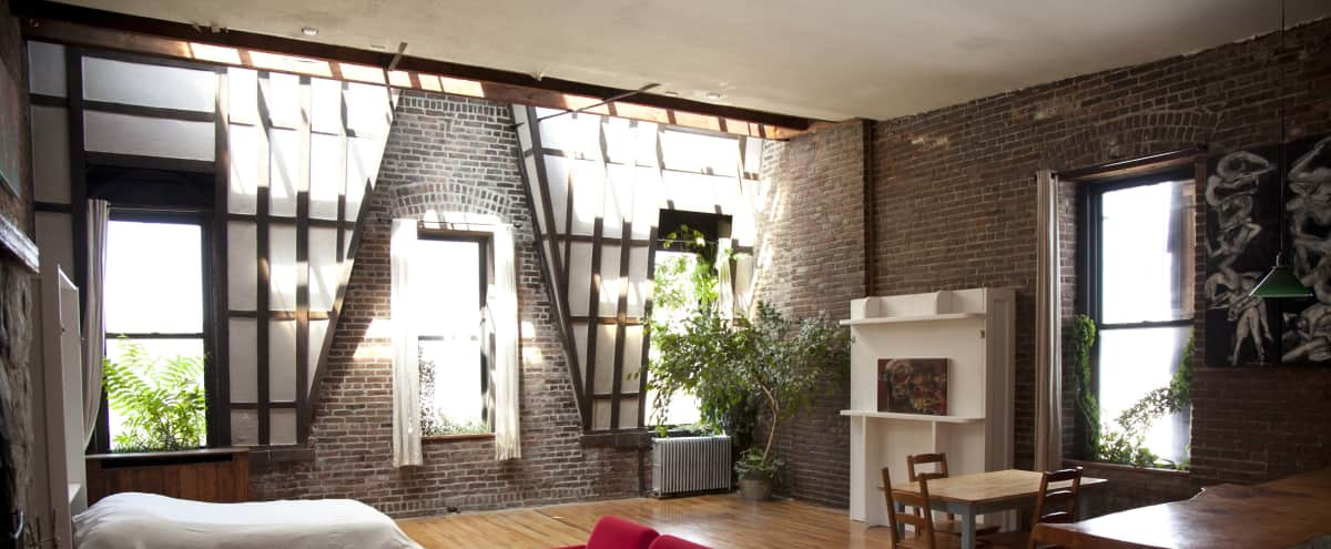 Historic Penthouse Studio Apartment in East Village in New York Hero Image in Lower Manhattan, New York, NY