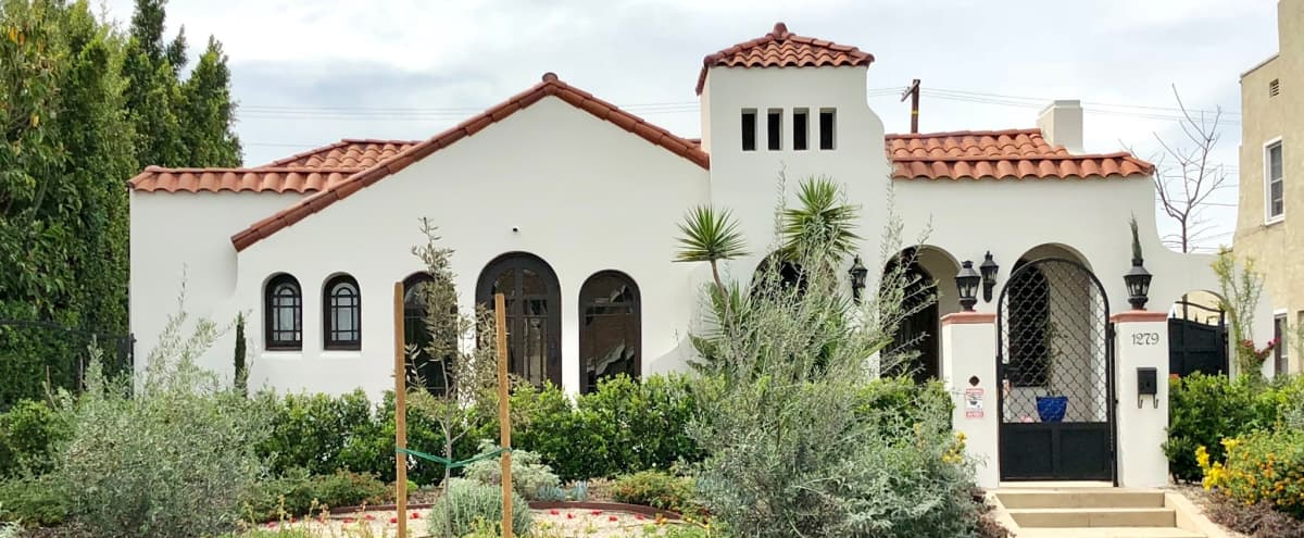 Beautiful Spanish Revival home on HUGE lot! in Los Angeles Hero Image in Central LA, Los Angeles, CA