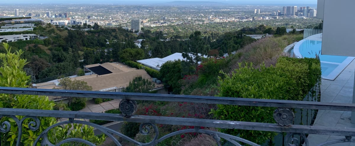 Beverly Hills Trousdale Estates Mansion with Crazy View in Beverly Hills Hero Image in Trousdale Estates, Beverly Hills, CA