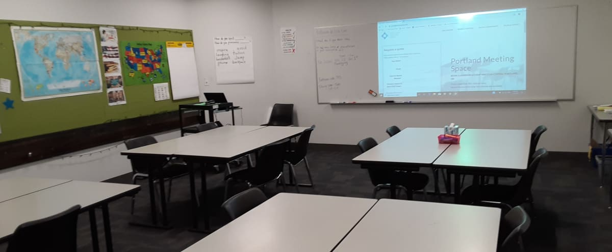 A/V Equipped Classroom   #14 in Portland Hero Image in Northeast Portland, Portland, OR