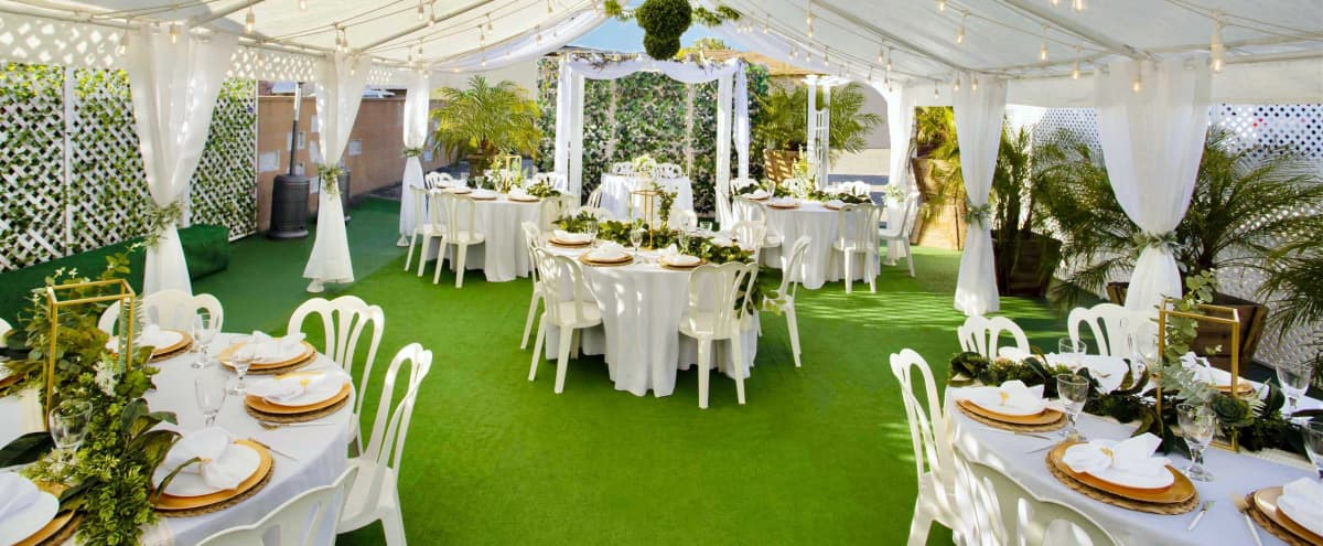 Beautiful Chic Boho Event Venue with Bright Open Main Room & Gorgeous Tented Patio! in Burbank Hero Image in undefined, Burbank, CA