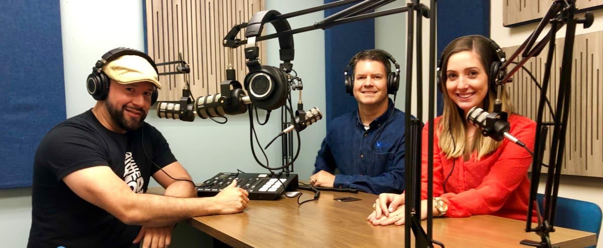 Podcast Studio in Northwest Houston in Houston Hero Image in Wortham Grove, Houston, TX