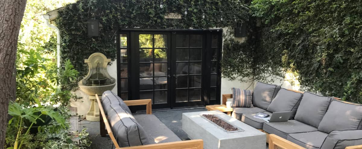Beautiful Zen Backyard Garden in Studio City Hero Image in Studio City, Studio City, CA