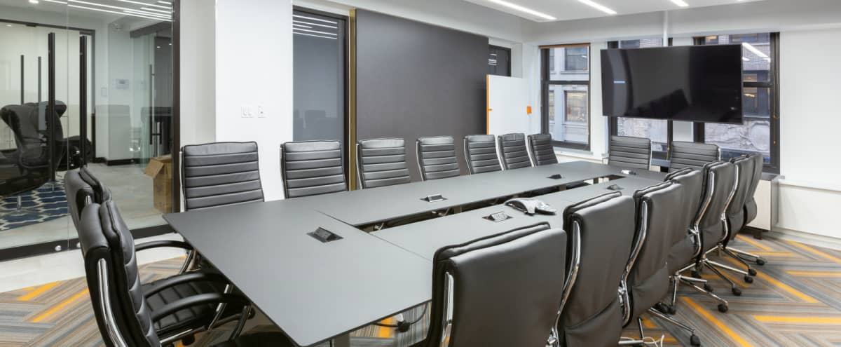 Brand New 22 Person Meeting Room-Gorgeous-Prime location in New York Hero Image in Midtown, New York, NY