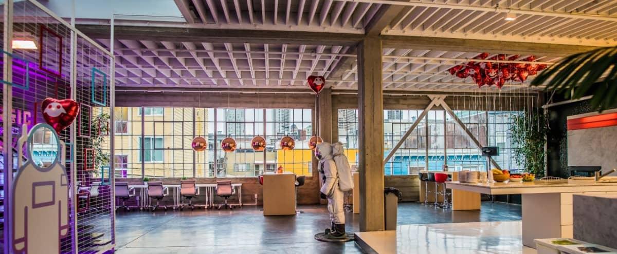 Sunny 3-Level Warehouse: Loft + Rooftop in SoMa! in San Francisco Hero Image in SoMa, San Francisco, CA