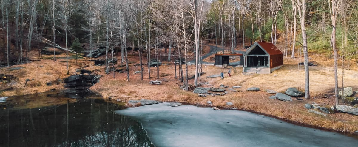 Award Winning Modern Cabin, less than 2 hours from NYC in Phillipsport Hero Image in undefined, Phillipsport, NY