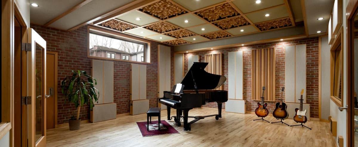 Modern Music Production Studio w/ Lounge in Vancouver Hero Image in East Vancouver, Vancouver, BC