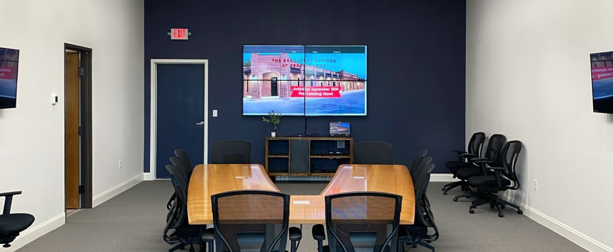 Modern Executive Conference Room in North Fort Worth in Fort Worth Hero Image in null, Fort Worth, TX