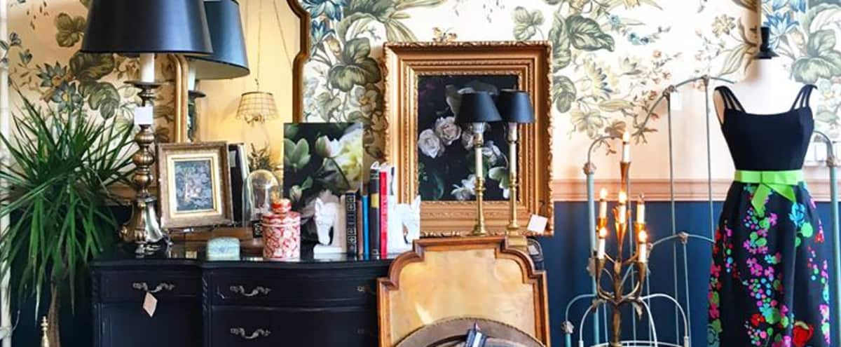 Spacious Vintage Furniture Shop w/ Spectacular Interior Design in Chicago Hero Image in West Town, Chicago, IL