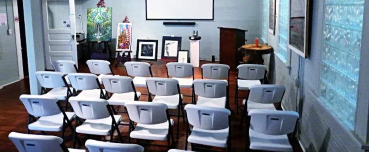 Meeting, Class & Art Gallery Multi-Use Room In Candler Park in Atlanta Hero Image in Candler Park, Atlanta, GA