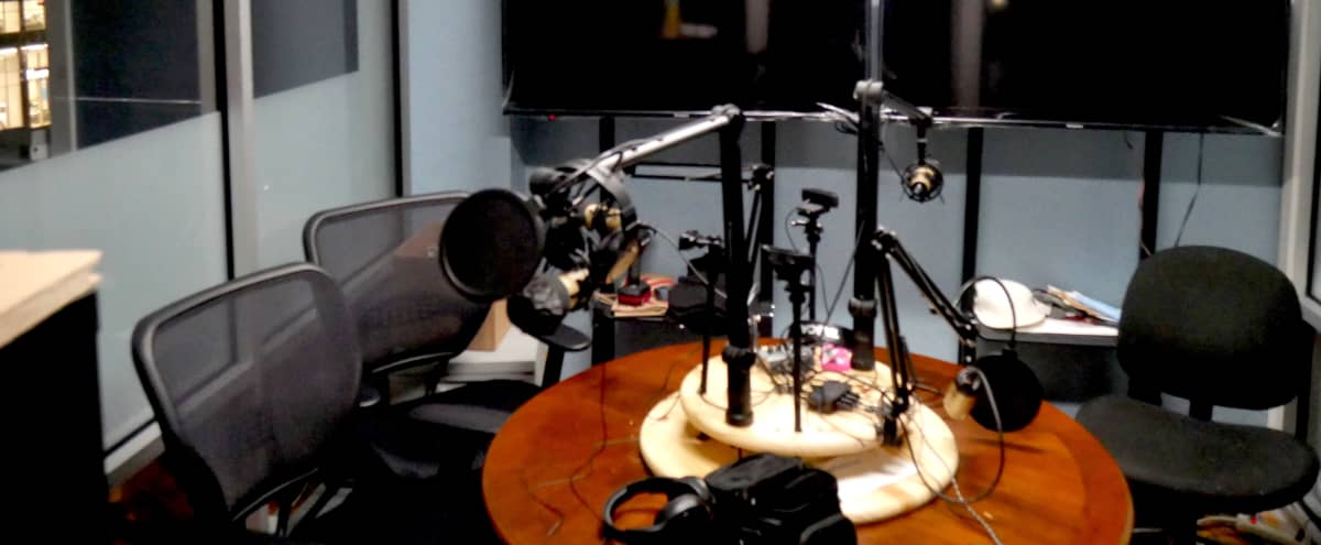 State of the Art Podcast Studio in Long Island City in Long Island City Hero Image in Long Island City, Long Island City, NY