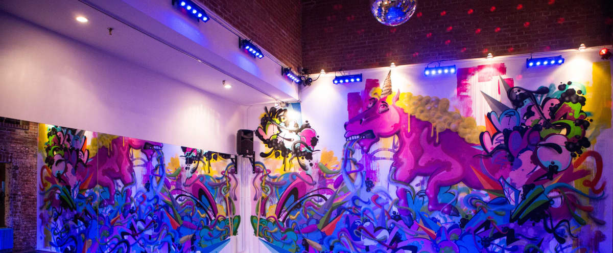 Colorful Fitness and Workshop Space in Hell's Kitchen in New York Hero Image in Midtown Manhattan, New York, NY