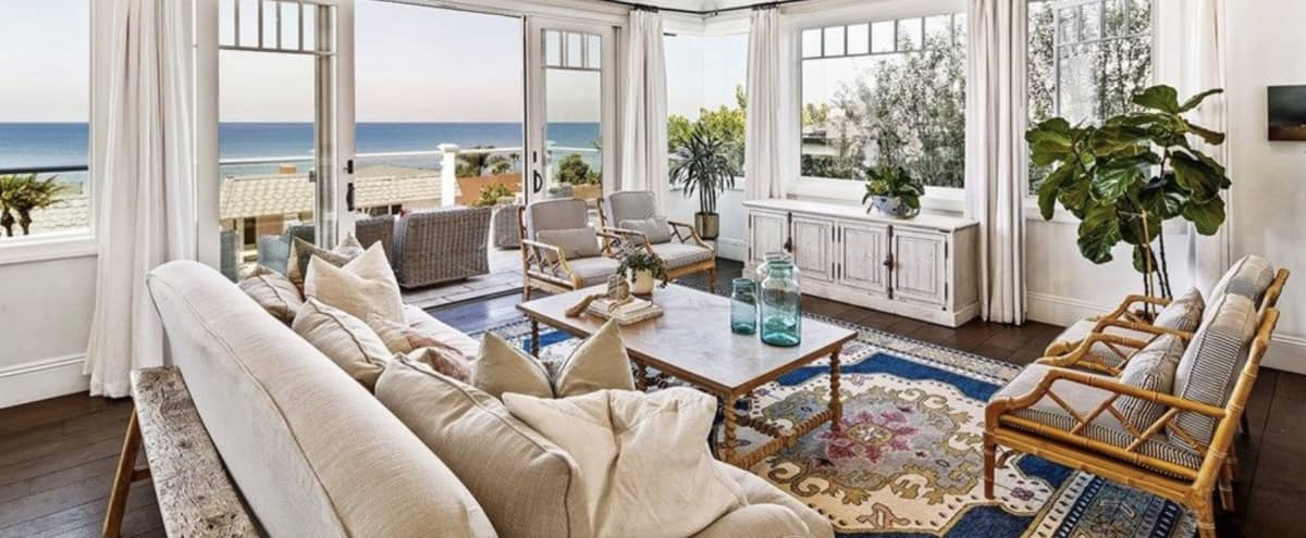 Cape Cod Beach House with Panoramic Ocean Views in San Clemente Hero Image in undefined, San Clemente, CA