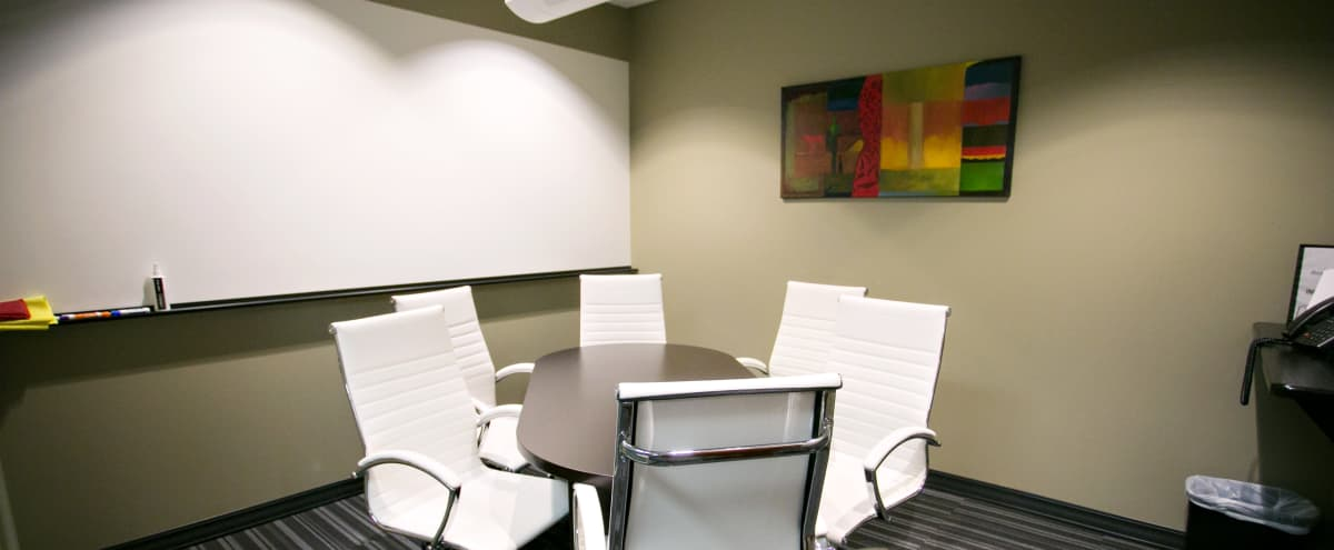 Modern Conference Room in Downtown, Minneapolis - 6 People in Minneapolis Hero Image in Downtown West, Minneapolis, MN