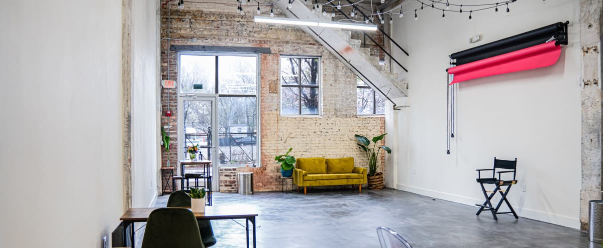 Bright & Modern Industrial Studio Nestled in Grant Park Neighborhood in Atlanta Hero Image in Oakland, Atlanta, GA