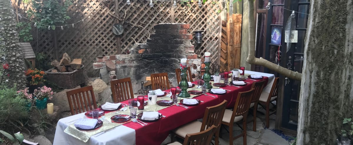 Venice House in Lush Enchanted Gardens for Small Events & Birthdays in Venice Hero Image in Venice, Venice, CA