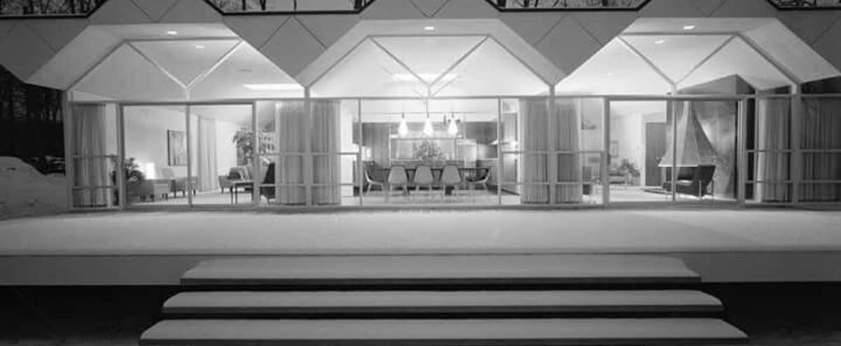Architecturally significant Mid Century Modern William Kessler home in park like setting in Farmington Hills Hero Image in undefined, Farmington Hills, MI