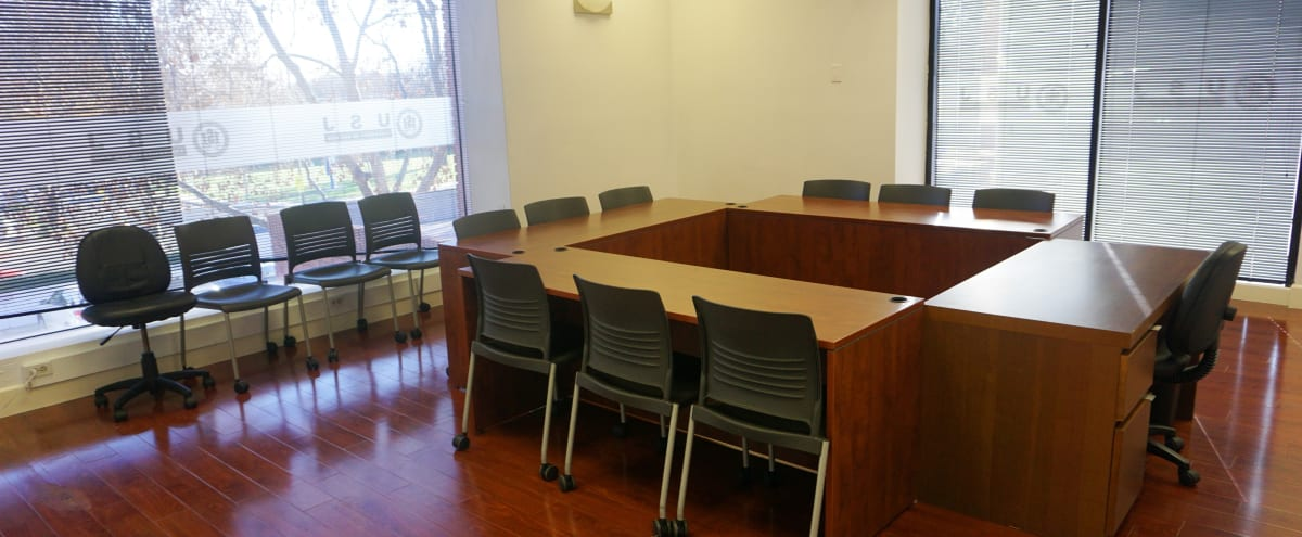 Silicon Valley Spacious and Quiet Meeting Room in Downtown San Jose(Close to Mineta San Jose International Airport, 0.9 Mile) in san jose Hero Image in North San Jose, san jose, CA