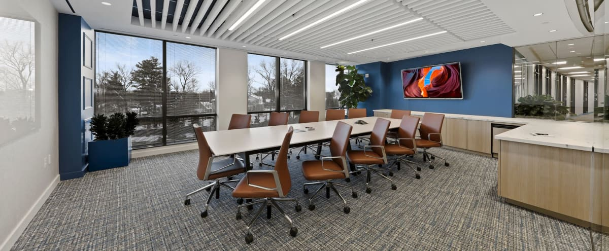 Boardroom in an Upscale Workspace in Chevy Chase Hero Image in undefined, Chevy Chase, MD