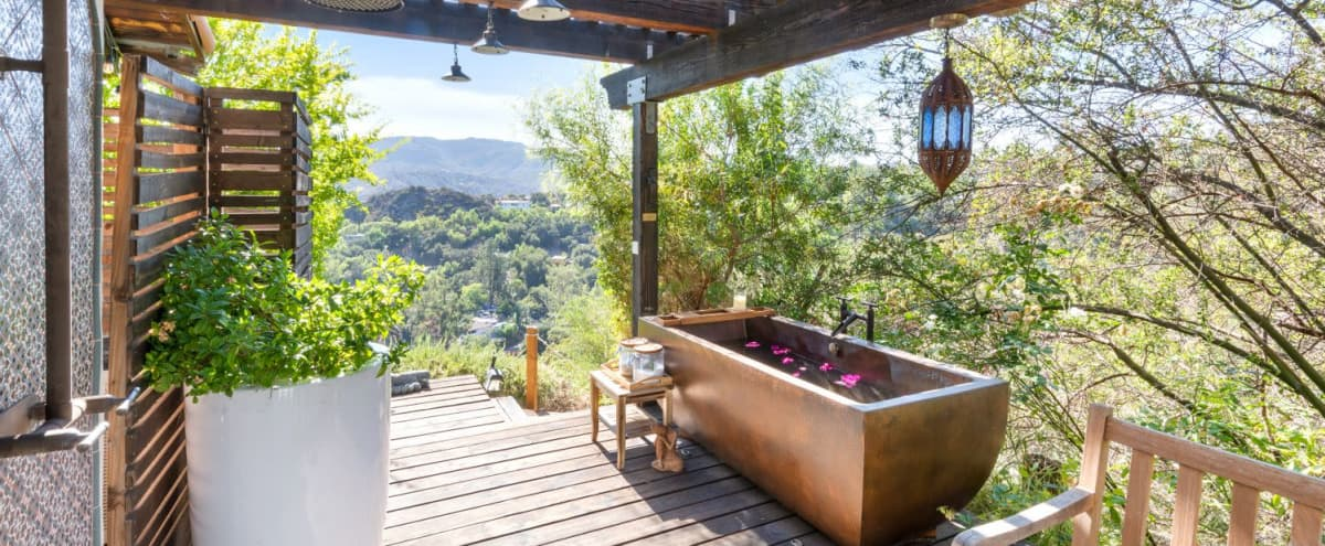 World Inspired Luxury Submerged in Nature in Topanga Hero Image in undefined, Topanga, CA