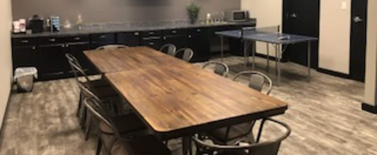 Lakeway 10 person conference room in  Industrial style. in Austin Hero Image in undefined, Austin, TX