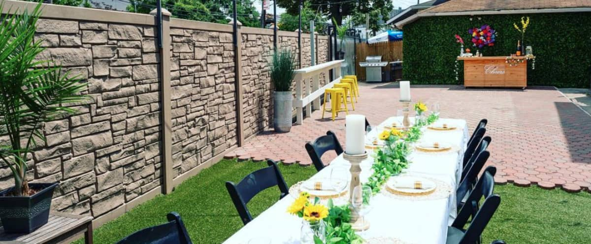 Outdoor Venue W/ Pool, Patio Furniture And More! in Bronx Hero Image in Eastchester, Bronx, NY