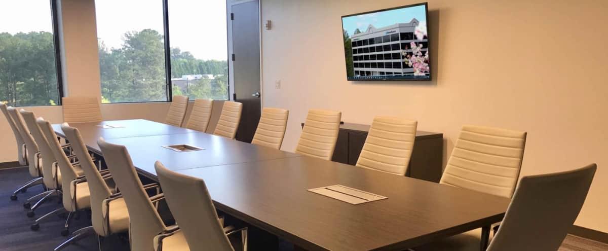 Meeting & Production Room In Co-Working Space Located in Dunwoody in Atlanta Hero Image in undefined, Atlanta, GA