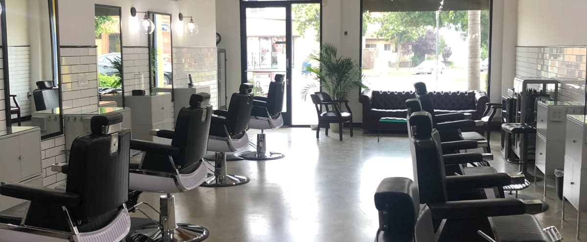Spacious Clean Modern Barbershop in Glendale Hero Image in Verdugo Viejo, Glendale, CA