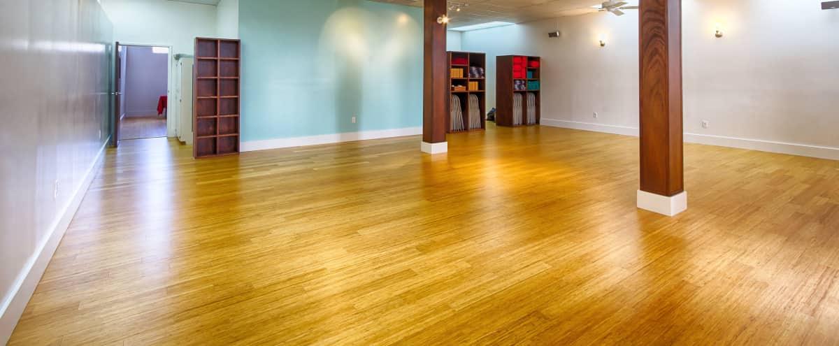 Beautiful, green-certified yoga studio located in the Laurel District in Oakland Hero Image in Redwood Heights, Oakland, CA