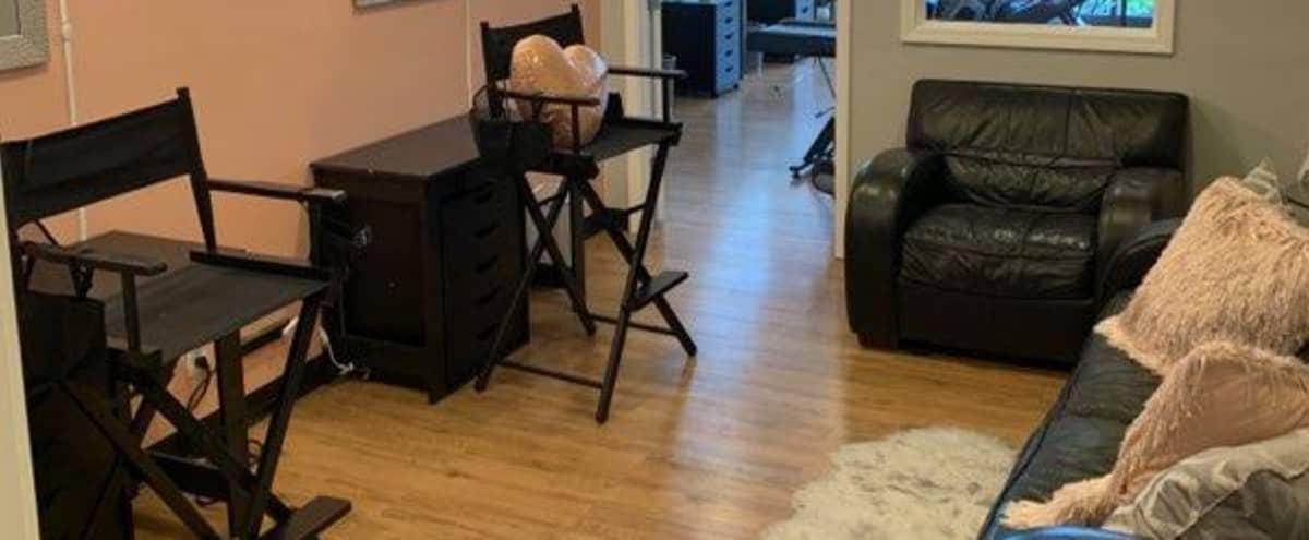 Luxury Makeup Studio with Floor to Ceiling Windows in Tucker Hero Image in Northlake, Tucker, GA