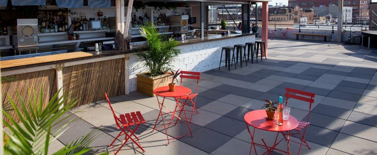 Multi-Room Music Venue & Nightclub with Rooftop in Brooklyn Hero Image in East Williamsburg, Brooklyn, NY
