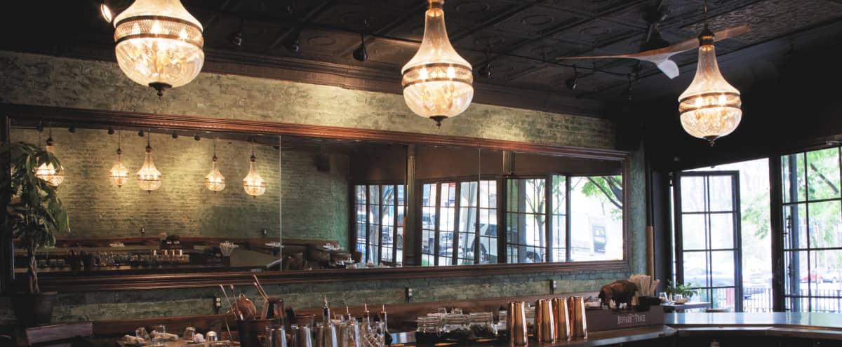 Industrial roomy Bar/Restaurant in Manhattan Hero Image in Upper West Side, Manhattan, NY