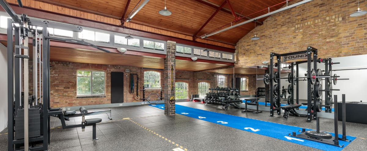 Loft Style Gym With Exposed Brickwork in London Hero Image in undefined, London,