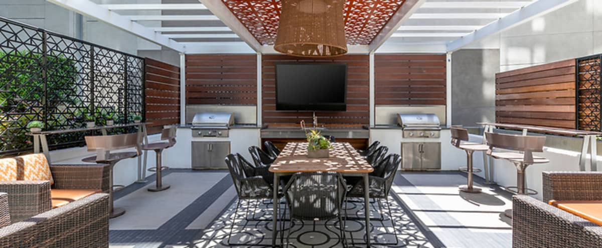 Indoor/Outdoor Modern and Luxurious Lounge in San Francisco Hero Image in South Beach, San Francisco, CA