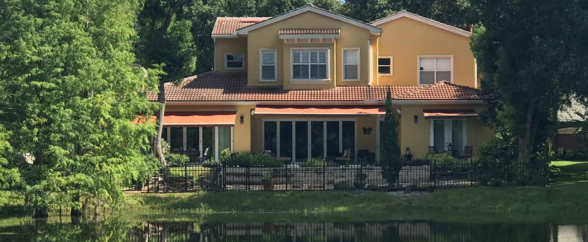 Gorgeous lakefront villa in Tampa Hero Image in null, Tampa, FL