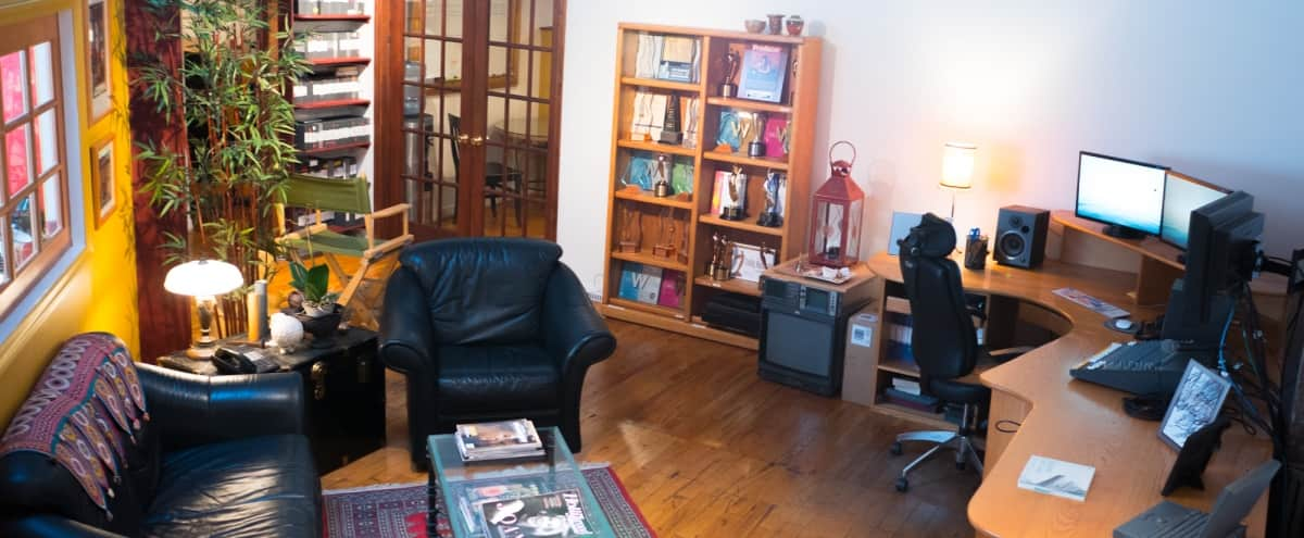 Eclectic Office in Historic Building on Hudson River in Irvington Hero Image in undefined, Irvington, NY