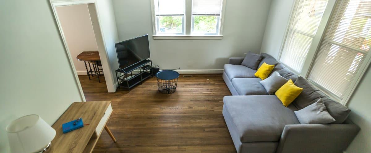 Two-Story Home w/Full Basement on Quiet Treelined Street in Washington Hero Image in Brightwood, Washington, DC