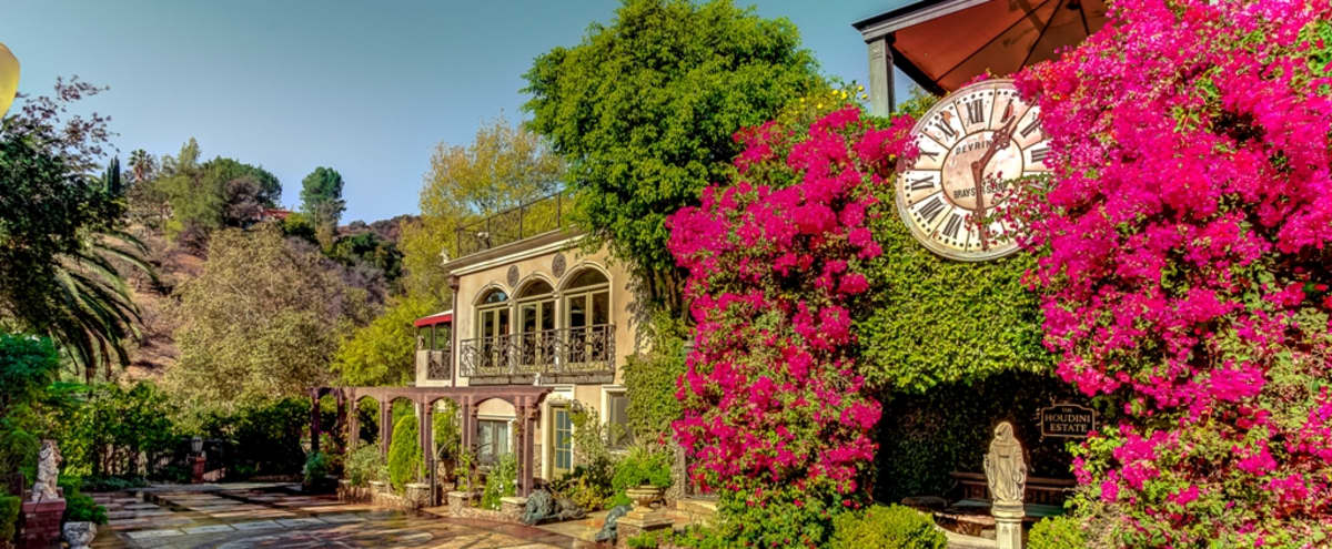 Historic 5-Acre Estate in Hollywood Hills for Shoots in Los Angeles Hero Image in Central LA, Los Angeles, CA