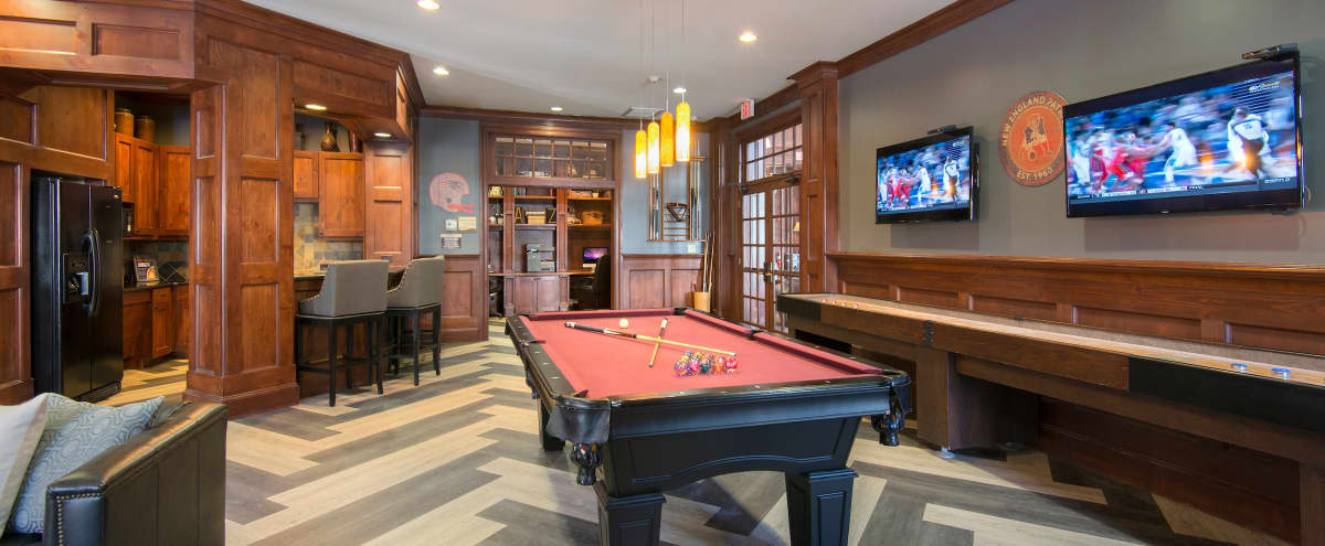 Comfy and rustic game room in Foxborough in Foxborough Hero Image in undefined, Foxborough, MA