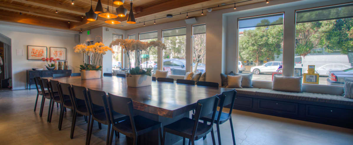 Urban Event Venue with Contemporary Clean, Wine Bar Feel in San Francisco Hero Image in Sunset District, San Francisco, CA